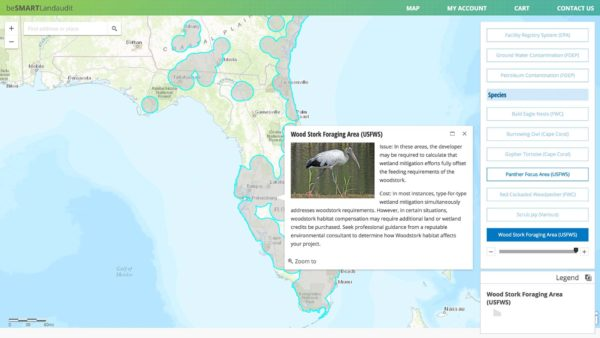 Wood Stork Foraging Area